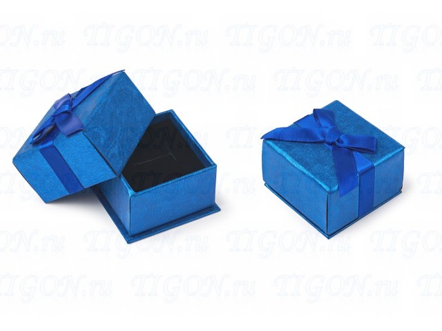 small blue box